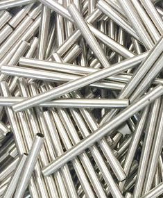 Cut stainless steel tube parts large